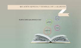 RELACIÓN ESPECIAL Y GENERAL DE LA SUJECIÓN