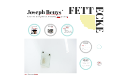 Joseph Beuys´ Fettecke