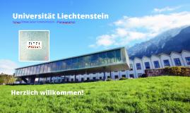 Universität Liechtenstein - Gut zu wissen - Willkommen am Campus