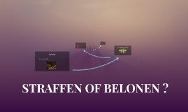STRAFFEN OF BELONEN ?