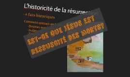 Historicité de la résurrection