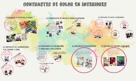Copy of Contrastes y armonias de color en interiores