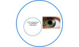OTC management of ophthalmic disorders