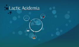 Lactic Acidemia