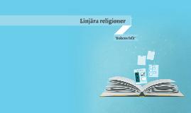 Linjära religioner a