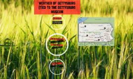 Wheather Of GettysBurg