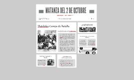 MATANZA DEL 2 DE OCTUBRE