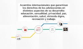 Acuerdos internacionales que garantizan los derechos de los