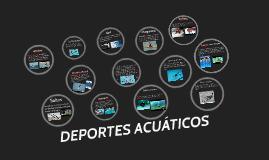Trabajo E.F. DEPORTES ACUATICOS ELENA Y EDU