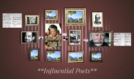 **Influential Poets**
