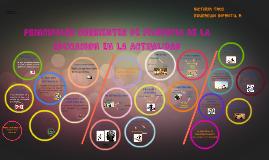 PRINCIPALES CORRIENTES DE FILOSOFIA DE LA EDUCACION EN LA AC