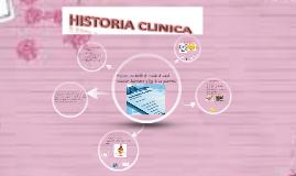 Registro con detalle del estado de salud, evolución, diagnós