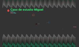 Caso de estudio Miguel