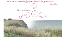 Geotechnical engineering - Site investigation