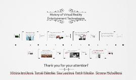 History of Virtual Reality