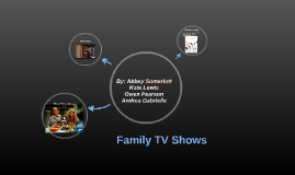 Family TV Shows