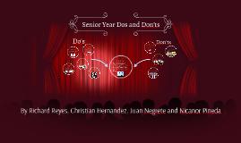 Senior Year Dos and Don'ts