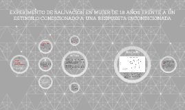 EXPERIMENTO DE SALIVACIÓN EN MUJER DE 18 AÑOS FRENTE A UN ES