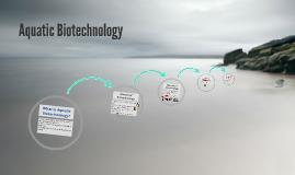 Aquatic Biotechnology
