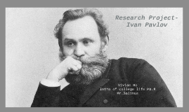 Research Project-Ivan Pavlov