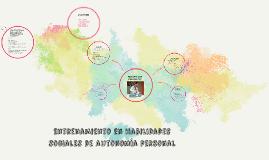 Copy of Entrenamiento en habilidades sociales de autonomía personal