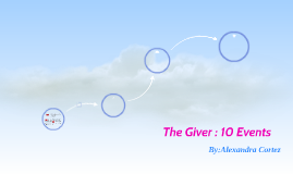 The Giver : 10 Events