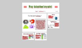 Wirusy- bezkomórkowe formy materii