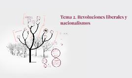 Tema 2. Revoluciones liberales y nacionalismos