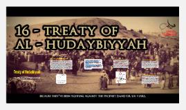 Treaty of Hudaybiyyah