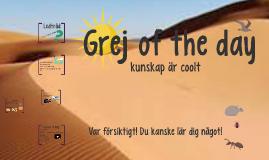Grej of the day - Världens största sandlåda