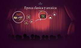 Linea del tiempo de poca cl sica hasta poca arcaica by for Epoca clasica