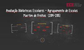 Avaliação Bibliotecas Escolares - 14-15 (AEMF)