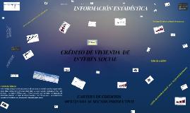 CRÉDITO DE VIVIENDA  DE INTERÉS SOCIAL