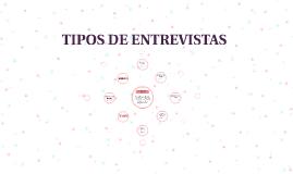 TIPOS DE ENTREVISTA