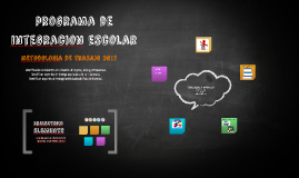 programa de integracion escolar