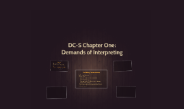 DC-S Chapter One