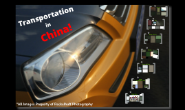 INTB - 530 - Transportation in China Blog