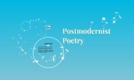 Postmodernist Poetry