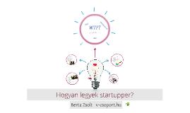 Start-up MaVan