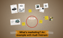 What's marketing? An example with Audi Vietnam