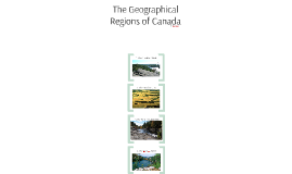 The Geographical Regions of Canada