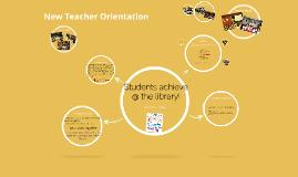 New Teacher Orientation
