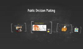 Public Decision Making
