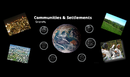 Settlements & Communities
