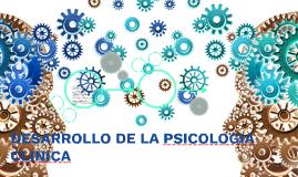 DESARROLLO DE LA PSICOLOGIA