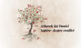 Arborele lui Daniel Sapiro- despre conflict