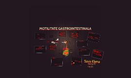 MOTILITATE GASTROINTESTINALA