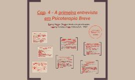 Copy of Cap. 4 - A primeira entrevistaem Psicoterapia Breve