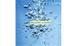 Uniqueness of Water