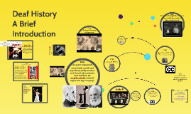 Deaf History - a brief intro